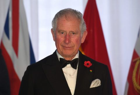 ACCRA, GHANA - NOVEMBER 05:  Prince Charles, Prince of Wales attends a State Dinner at Jubilee House on day six of the royal trip to west Africa on November 5, 2018 in Accra, Ghana  (Photo by Joe Giddens - WPA Pool/Getty Images)