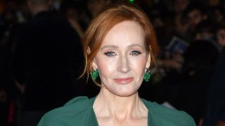 """PARIS, FRANCE - NOVEMBER 08:  Writer J.K. Rowling attends """"Fantastic Beasts: The Crimes Of Grindelwald"""" World Premiere at UGC Cine Cite Bercy on November 8, 2018 in Paris, France.  (Photo by Pascal Le Segretain/Getty Images)"""