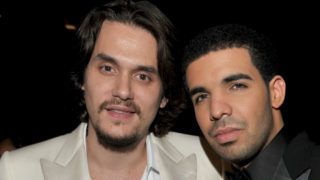 LOS ANGELES, CA - FEBRUARY 13:  Singer John Mayer (L) and rapper Drake attend The 53rd Annual GRAMMY Awards held at Staples Center on February 13, 2011 in Los Angeles, California.  (Photo by Lester Cohen/WireImage)