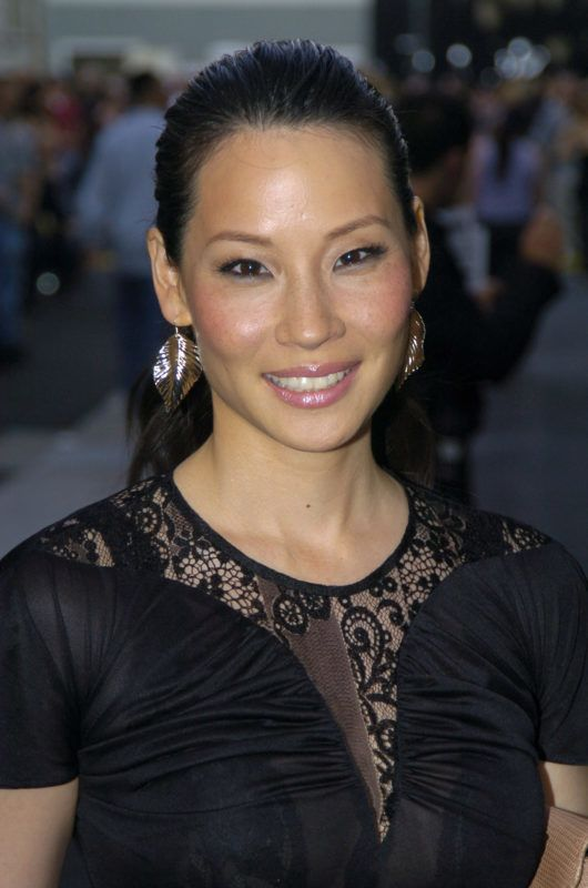 Lucy Liu during 2004 MTV Movie Awards - Backstage and Audience at Sony Pictures Studios in Culver City, California, United States. (Photo by Jeff Kravitz/FilmMagic)