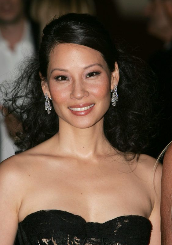 Lucy Liu during Vogue Italia Party - Arrivals in Milan, Italy. (Photo by Daniele Venturelli/WireImage)