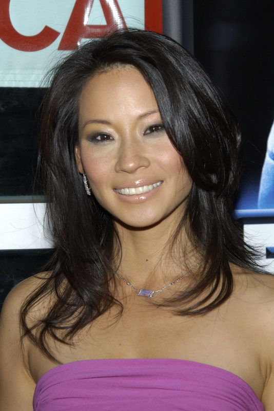 """HOLLYWOOD - SEPTEMBER 18:  Actress Lucy Liu attends the film premiere of """"Ballistic: Ecks Vs. Sever"""" on September 18, 2002 at the Cinerama Dome in Hollywood, California. (Photo by Vince Bucci/Getty Images)"""