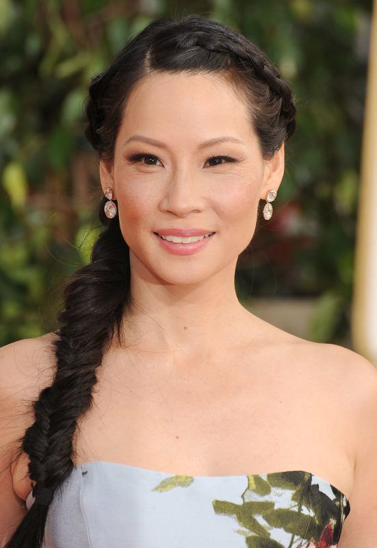 BEVERLY HILLS, CA - JANUARY 13:  Lucy Liu arrives at the 70th Annual Golden Globe Awards at The Beverly Hilton Hotel on January 13, 2013 in Beverly Hills, California.  (Photo by Steve Granitz/WireImage)