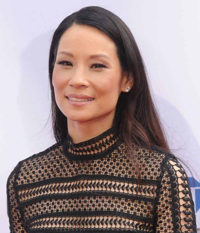 """HOLLYWOOD, CA - JANUARY 16:  Actress Lucy Liu arrives at the premiere of 20th Century Fox's """"Kung Fu Panda 3"""" at TCL Chinese Theatre on January 16, 2016 in Hollywood, California.  (Photo by Gregg DeGuire/WireImage)"""
