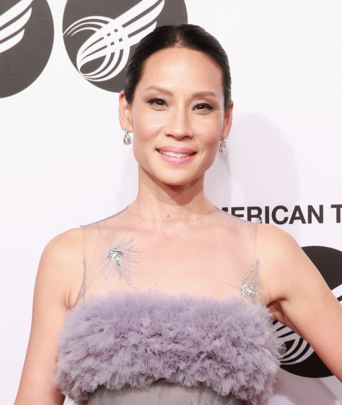 NEW YORK, NY - SEPTEMBER 18:  Lucy Liu attends The American Theatre Wing's Centennial Gala at Cipriani 42nd Street on September 18, 2017 in New York City.  (Photo by Robin Marchant/Getty Images)