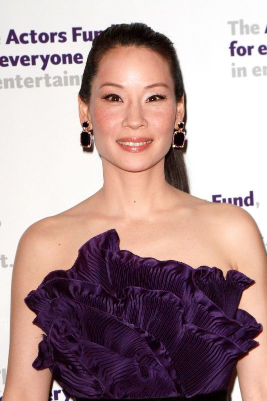 NEW YORK - APRIL 12:  Lucy Liu attends the Actors Fund annual gala at The New York Marriott Marquis on April 12, 2010 in New York City.  (Photo by Steve Mack/Getty Images)