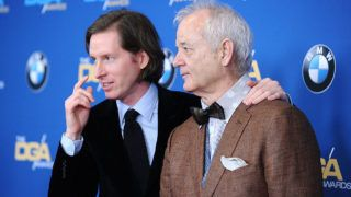 LOS ANGELES, CA - FEBRUARY 07:  Director Wes Anderson and actor Bill Murray attend the 67th annual Directors Guild of America Awards at the Hyatt Regency Century Plaza on February 7, 2015 in Los Angeles, California.  (Photo by Jason LaVeris/FilmMagic)