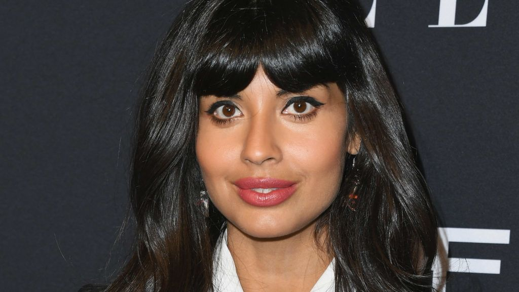 LOS ANGELES, CA - OCTOBER 15:  Jameela Jamil attends the 25th Annual ELLE Women In Hollywood Celebration at Four Seasons Hotel Los Angeles at Beverly Hills on October 15, 2018 in Los Angeles, California.  (Photo by Jon Kopaloff/FilmMagic)