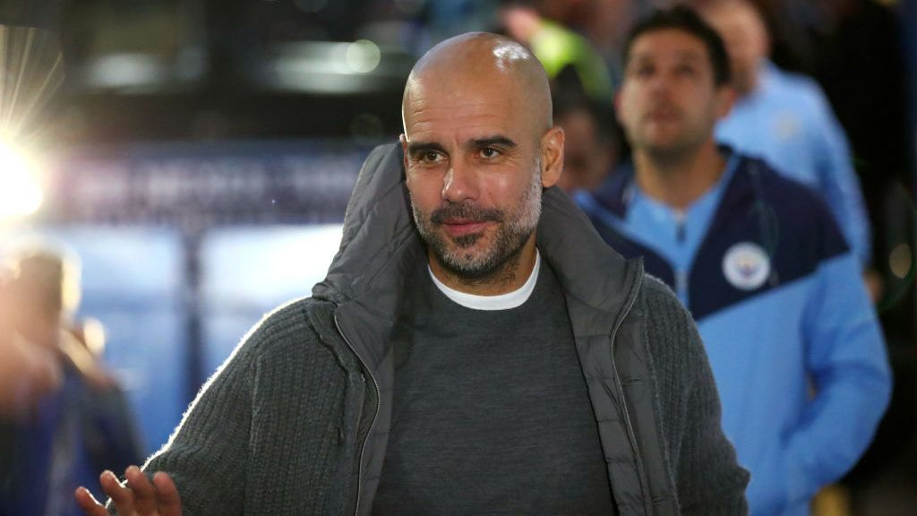 LONDON, ENGLAND - DECEMBER 08:  Josep Guardiola, Manager of Manchester City arrives at the stadium prior to the Premier League match between Chelsea FC and Manchester City at Stamford Bridge on December 8, 2018 in London, United Kingdom.  (Photo by Clive Rose/Getty Images)