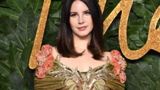 LONDON, ENGLAND - DECEMBER 10:  Lana Del Rey arrives at The Fashion Awards 2018 In Partnership With Swarovski at Royal Albert Hall on December 10, 2018 in London, England.  (Photo by Karwai Tang/WireImage)