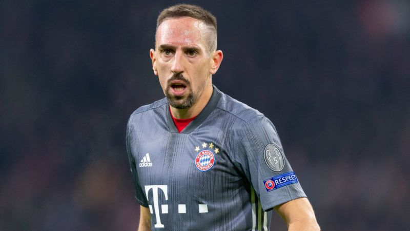 AMSTERDAM, NETHERLANDS - DECEMBER 12: Franck Ribery of Bayern Muenchen looks on during the UEFA Champions League Group E match between Ajax and FC Bayern Muenchen at Johan Cruyff Arena on December 12, 2018 in Amsterdam, Netherlands. (Photo by TF-Images/TF-Images via Getty Images)