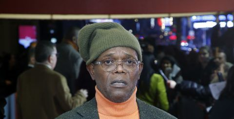 """NEW YORK, NEW YORK - DECEMBER 13: Samuel L. jackson attends  """"To Kill A Mockingbird"""" Broadway Opening Night at Shubert Theatre on December 13, 2018 in New York City. (Photo by John Lamparski/Getty Images)"""