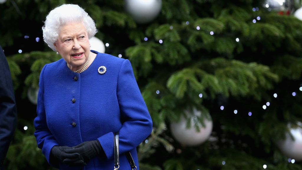 LONDON, ENGLAND - DECEMBER 18:  Queen Elizabeth II leaves Number 10 Downing Street after attending the Government's weekly Cabinet meetingon December 18, 2012 in London, England.  (Photo by Chris Jackson/Getty Images)