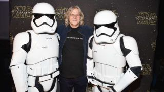 """TORONTO, ON - DECEMBER 16:  Academy Award-winner Roger Christian (Oscar winner for Set Decoration on """"Star Wars) attends Canadian Premiere of """"Star Wars: The Force Awakens"""" held at Scotiabank Theatre on December 16, 2015 in Toronto, Canada.  (Photo by George Pimentel/WireImage)"""