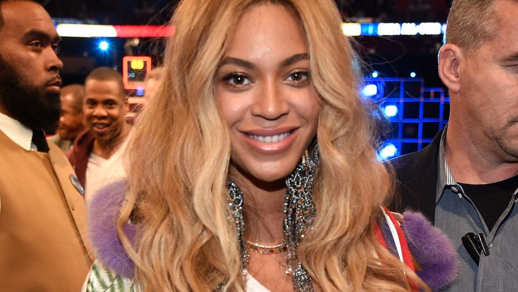 NEW ORLEANS, LA - FEBRUARY 19: Beyonce Knowles attends the 66th NBA All-Star Game at Smoothie King Center on February 19, 2017 in New Orleans, Louisiana.  (Photo by Kevin Mazur/Getty Images)