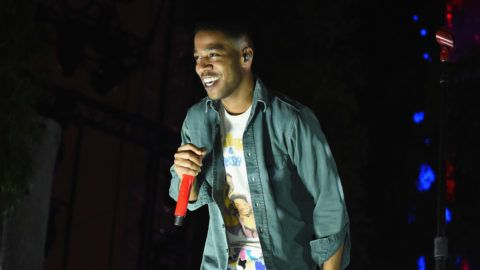 LOS ANGELES, CA - OCTOBER 29:  Kid Cudi performs on the Camp Stage during day 2 of Camp Flog Gnaw Carnival 2017 at Exposition Park on October 29, 2017 in Los Angeles, California.  (Photo by Kevin Winter/Getty Images)