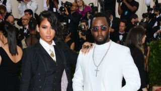 NEW YORK, NY - MAY 07:  Cassie Ventura and Sean Combs attend the Heavenly Bodies: Fashion & The Catholic Imagination Costume Institute Gala at Metropolitan Museum of Art on May 7, 2018 in New York City.  (Photo by George Pimentel/Getty Images)