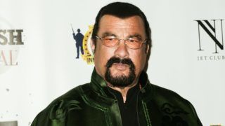 LOS ANGELES, CA - FEBRUARY 23:  Actor Steven Seagal attends the SMASH Global V pre-Oscar fight at Taglyan Complex on February 23, 2017 in Los Angeles, California.  (Photo by Paul Archuleta/Getty Images,)