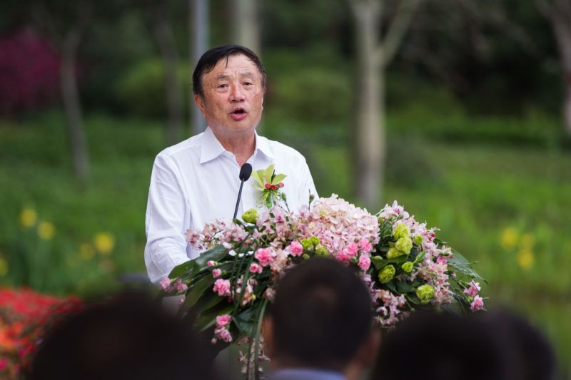 """--FILE--Ren Zhengfei, President and CEO of Huawei Technologies, speaks at a public event in Shenzhen city, south China's Guangdong province, April 2018.  In his first letter to employees in 2019, Huawei CEO Ren Zhengfei said the company will strengthen the credibility of its products largely by advancing Huawei's software engineering. Not the most moving of holiday letters, admittedly. But Ren is not prone to flowery language. Ren said an initial $2 billion will be allocated toward engineering high-quality and """"credible"""" telecom infrastructure products — saying the enhancement of its offerings would be """"revolutionary."""" Huawei may count 2018 as the year it wished it could forget. Several countries banned Huawei's involvement on telecom projects over national security and privacy concerns. And last month Canada arrested Huawei CEO Meng Wanzhou at the request of the U.S., who says she committed fraud in breach of U.S. sanctions against Iran. Ren didn't directly address these developments in letter, but he promised a focus on privacy."""