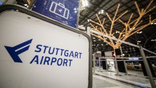 19 December 2018, Baden-Wuerttemberg, Stuttgart: View of Terminal 1 from Stuttgart Airport. The federal police have tightened security measures at Stuttgart airport, as a person is said to have tried to spy on the procedures at the airport. Photo: Christoph Schmidt/dpa