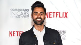 NEW YORK, NY - JUNE 25: Comedian Hasan Minhaj attends Comedians in Cars Getting Coffee - New York Event at Classic Car Club Manhattan on June 25, 2018 in New York City.   Dimitrios Kambouris/Getty Images for Netflix/AFP