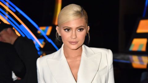 NEW YORK, NY - AUGUST 20:  Kylie Jenner attends the 2018 MTV Video Music Awards at Radio City Music Hall on August 20, 2018 in New York City.  (Photo by Jeff Kravitz/FilmMagic)