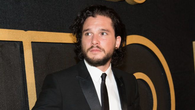 LOS ANGELES, CA - SEPTEMBER 17:  Kit Harington arrives at HBO's Post Emmy Awards Reception at the Plaza at the Pacific Design Center on September 17, 2018 in Los Angeles, California.  (Photo by Emma McIntyre/Getty Images)