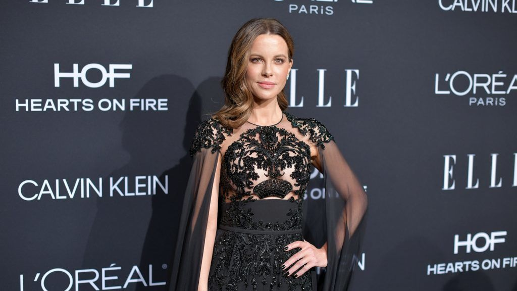 LOS ANGELES, CA - OCTOBER 15:  Kate Beckinsale attends ELLE's 25th Annual Women In Hollywood Celebration presented by L'Oreal Paris, Hearts On Fire and CALVIN KLEIN at Four Seasons Hotel Los Angeles at Beverly Hills on October 15, 2018 in Los Angeles, California.  (Photo by Neilson Barnard/Getty Images for ELLE Magazine)