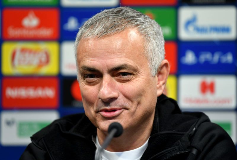 VALENCIA, SPAIN - DECEMBER 11:  Jose Mourinho, Manager of Manchester United speaks to the media during the Manchester United Press Conference at Estadio Mestalla on December 11, 2018 in Valencia, Spain.  (Photo by Dan Mullan/Getty Images)