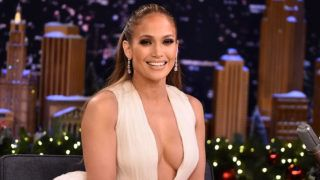 """NEW YORK, NY - DECEMBER 11:  Jennifer Lopez Visits """"The Tonight Show Starring Jimmy Fallon"""" on December 11, 2018 in New York City.  (Photo by Theo Wargo/Getty Images for NBC)"""