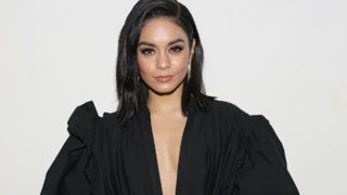 "MIAMI, FL - DECEMBER 14:  Vanessa Hudgens is seen on the set of ""Un Nuevo Dia"" at Telemundo Center to promote the film ""Second Act"" on December 14, 2018 in Miami, Florida.  (Photo by Alexander Tamargo/Getty Images)"