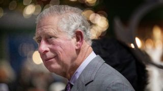 CUMNOCK, SCOTLAND - DECEMBER 20:  Prince Charles, Duke of Rothesay makes a surprise visit to the Christmas tea dance at Dumfries House on December 20, 2018 in Cumnock, Scotland. Prince Charles joined around two hundred guests for the festive tea dance, which was held to counter loneliness and social isolation in Ayrshire. (Photo by Jane Barlow-WPA Pool/Getty Images)