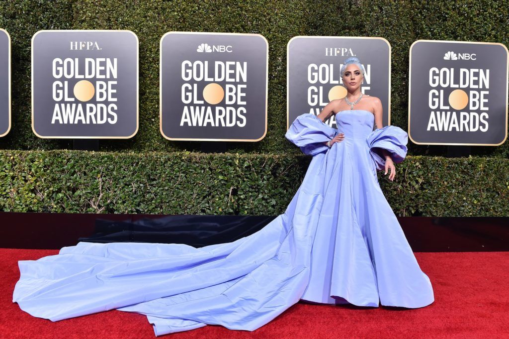 THE BEVERLY HILTON HOTEL, CA - JANUARY 06:  Lady Gaga attends the 76th Annual Golden Globe Awards at The Beverly Hilton Hotel on January 6, 2019 in Beverly Hills, California.  (Photo by Axelle/Bauer-Griffin/FilmMagic)
