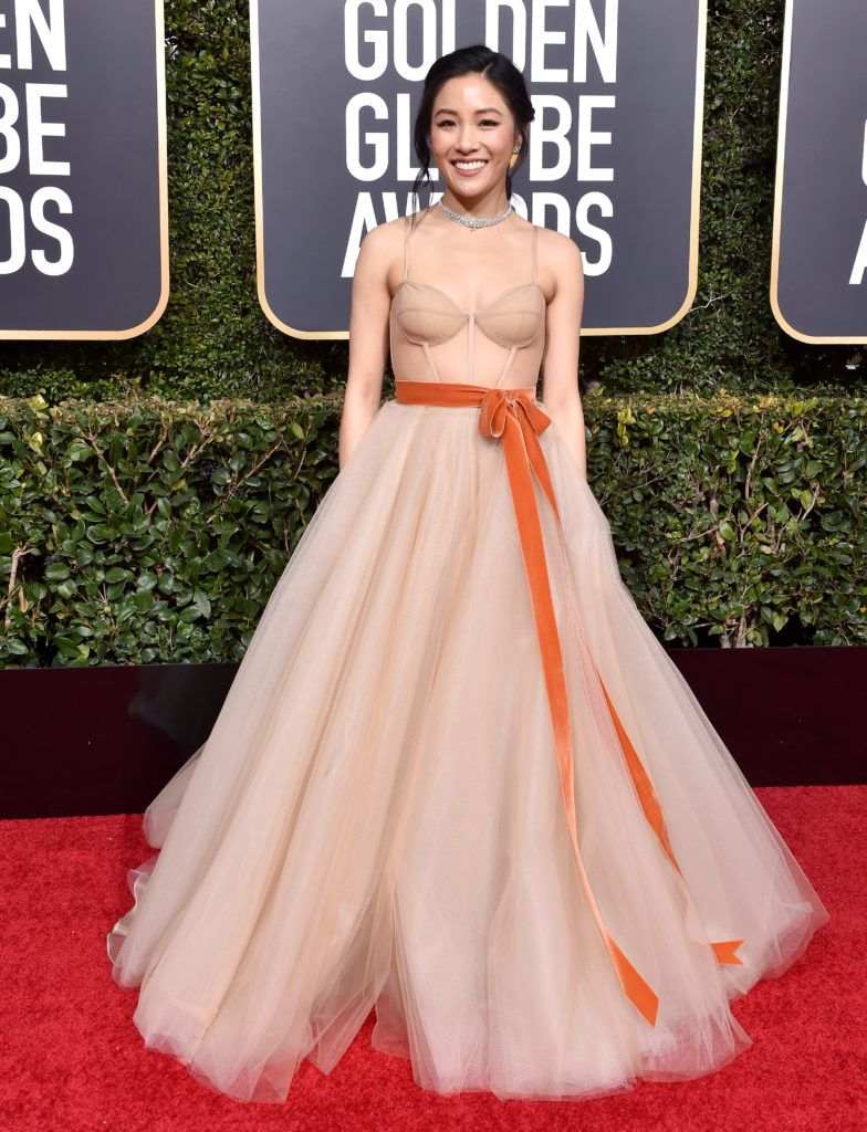 BEVERLY HILLS, CA - JANUARY 06:  Constance Wu attends the 76th Annual Golden Globe Awards at The Beverly Hilton Hotel on January 6, 2019 in Beverly Hills, California.  (Photo by Axelle/Bauer-Griffin/FilmMagic)