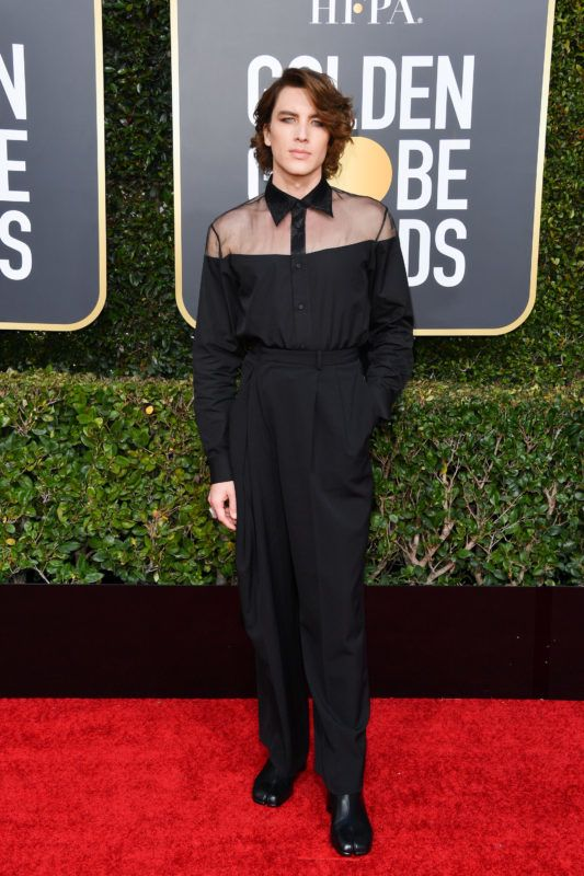 BEVERLY HILLS, CALIFORNIA - JANUARY 06: Cody Fern attends the 76th Annual Golden Globe Awards held at The Beverly Hilton Hotel on January 06, 2019 in Beverly Hills, California. (Photo by George Pimentel/WireImage)