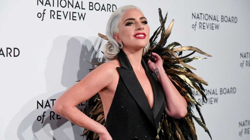 NEW YORK, NEW YORK - JANUARY 08: Actress/singer Lady Gaga attends the 2019 National Board Of Review Gala at Cipriani 42nd Street on January 08, 2019 in New York City. (Photo by Mike Coppola/FilmMagic,)