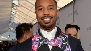 LOS ANGELES, CALIFORNIA - JANUARY 27:  Michael B. Jordan attends the 25th Annual Screen ActorsGuild Awards at The Shrine Auditorium on January 27, 2019 in Los Angeles, California. (Photo by Lester Cohen/WireImage)
