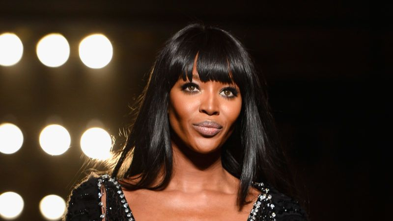 PARIS, FRANCE - JUNE 30:  Model Naomi Campbell walks the runway during Versace show as part of Paris Fashion Week Haute-Couture Fall/Winter 2013-2014 at  on June 30, 2013 in Paris, France.  (Photo by Pascal Le Segretain/Getty Images)