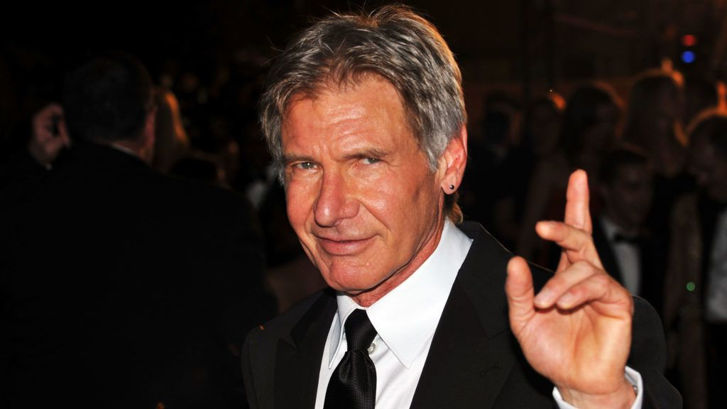 CANNES, FRANCE - MAY 18:  Actor Harrison Ford departs after  the Indiana Jones and The Kingdom of The Crystal Skull Premiere at the Palais des Festivals during the 61st International Cannes Film Festival on May 18 , 2008 in Cannes, France.  (Photo by Pascal Le Segretain/Getty Images)