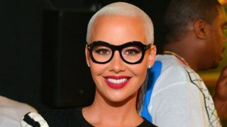 ATLANTA, GA - SEPTEMBER 23: (EXCLUSIVE COVERAGE)  Amber Rose Hosts a Party at Gold Room on September 23, 2017 in Atlanta, Georgia.  (Photo by Prince Williams/WireImage)