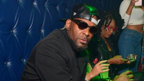 ATLANTA, GA - OCTOBER 26: (EXCLUSIVE COVERAGE)  R Kelly attends a Party at Amora Lounge on October 26, 2017 in Atlanta, Georgia.  (Photo by Prince Williams/WireImage)