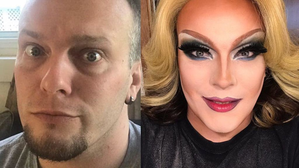 The comparion between John and Lily Devine. ONTARIO, CANADA: THIS SINGLE dad has been spurred on to pursue his passion for drag by his TEN-YEAR-OLD SON who encourages him not to give up and has even said that he will take over his show as a mini-me when he passes away. Co-owner of Showgirls Entertainment and Canadian National Showgirl Pageant, John Bryant (34) from Kingston, Ontario, Canada, first got into drag seven-years ago after seeing some drag queens perform and thinking he could do the same. Having never experimented with makeup before, John's first experiences of doing his own makeup weren't always a success but he persevered after gaining influence by drag performer, Harris Glenn Milstead who performed as Divine and RuPaul, and his comedic alter-ego, Lily Devine was born. Despite receiving positive feedback when he is on stage, John, who is also a single parent to his 10-year-old son, Nicholas, from a previous relationship with a woman, has been subjected to criticism from those, including his son's school, who don't consider his drag queen lifestyle appropriate for being a parent and have even questioned him about his gender identity. However, Nicholas, absolutely loves Lily Devine and sometimes mimics her in John's wigs and heels as a joke. When John is testing out his makeup and outfits he always asks for his son's opinion and whenever John feels like giving up on his dreams, Nicholas is there to spur him on and has even said he will take over the show when John passes away. mediadrumworld.com / Lily Devine ***EXCLUSIVE***