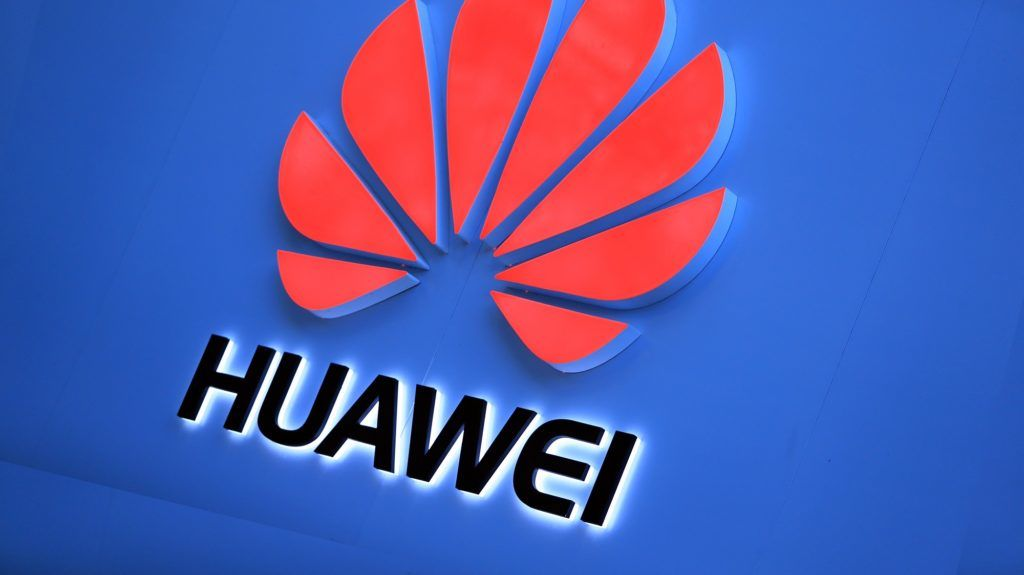 --FILE--View of a signboard of Huawei in Kunming city, southwest China's Yunnan province, 11 December 2018.    Chinese tech giant Huawei on Thursday launched a new smartphone in Kenya targeting social media-savvy youth. Speaking at the launch in Nairobi, Steven Li, Huawei's head of Eastern Africa Mobile, said the device, retailing at 18,000 Kenyan shillings (180 U.S. dollars), will also be available online on pre-orders that kicked off immediately until Feb. 7.