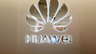 --FILE--View of a logo of Huawei in Shanghai, China, 15 January 2019.  Huawei, Chinese technology giant, has co-launched an ICT (Information and Communications Technology) talent job fair with Saudi Arabian Ministry of Communications and Information Technology on Thursday in Saudi capital Riyadh. The event, providing more than 100 job vacancies to Saudi youth, aims to promote promising students who took part in previous Huawei training programs, and offer them an opportunity to develop their careers. Hundreds of students participated in the event, applying for the ICT jobs offered by Huawei and its 16 partner enterprises. Chinese Ambassador to Saudi Arabia Li Huaxin said, the job fair is yet another example of China's strong partnership with Saudi Arabia, and a springboard for the young generation to enter the digital era.