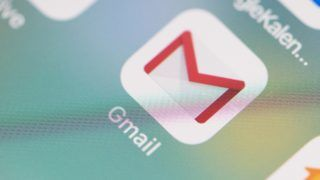 FILED - ILLUSTRATION - 04 July 2018,Germany, Berlin: The logo of the Gmail application can be seen on the screen of an iPhone. Google defended the controversial practice of App developers scanning the digital mailboxes at the Gmail service. Photo: Fabian Sommer/dpa