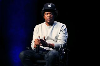 NEW YORK, NY - JANUARY 23:  Shawn 'Jay-Z' Carter attends Criminal Justice Reform Organization Launch at Gerald W. Lynch Theater on January 23, 2019 in New York City.  (Photo by Shareif Ziyadat/Getty Images)