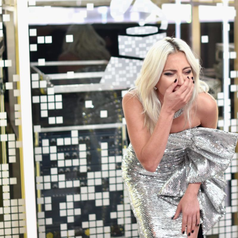 LOS ANGELES, CA - FEBRUARY 10:  Lady Gaga backstage during the 61st Annual GRAMMY Awards at Staples Center on February 10, 2019 in Los Angeles, California.  (Photo by John Shearer/Getty Images for The Recording Academy)