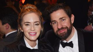 NEW YORK, NY - FEBRUARY 17:  Emily Blunt and John Krasinski attend the 71st Annual Writers Guild Awards New York ceremony at Edison Ballroom on February 17, 2019 in New York City.  (Photo by Jamie McCarthy/Getty Images for Writers Guild of America, East)