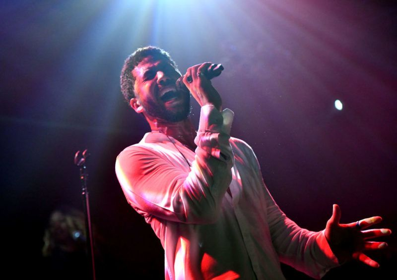 WEST HOLLYWOOD, CALIFORNIA - FEBRUARY 02: Singer Jussie Smollett performs onstage at Troubadour on February 02, 2019 in West Hollywood, California. (Photo by Scott Dudelson/Getty Images for ABA)