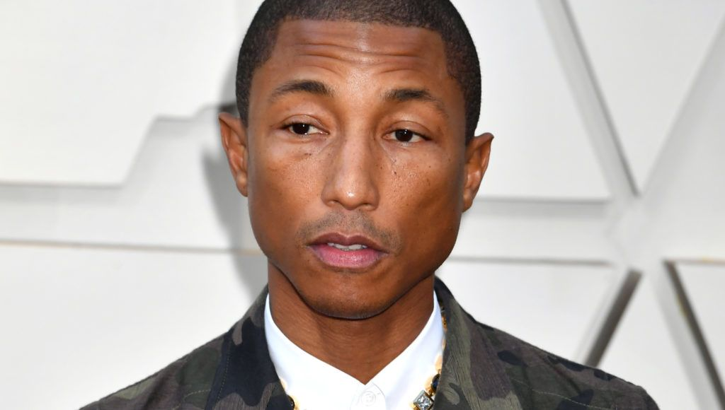 HOLLYWOOD, CA - FEBRUARY 24:  Pharrell Williams attends the 91st Annual Academy Awards at Hollywood and Highland on February 24, 2019 in Hollywood, California.  (Photo by Jeff Kravitz/FilmMagic)